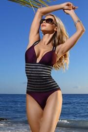 Jednoczęściowy wyszczuplający kostium kąpielowy Florence