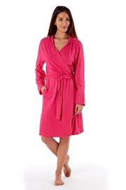 Damski szlafrok bawełniany Laugh Pink