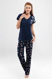 Damska piżama Valeria z długimi nogawkami