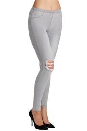 Damskie legginsy Carlita w dżinsowym stylu