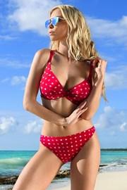 Dwuczęściowy damski kostium kąpielowy July Red
