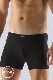 Bokserki męskie GINO Modal krótkie, czarne