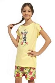 Dziewczęca piżama z bawełny Aloha