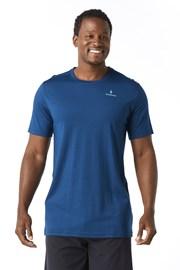 T-shirt męski SMARTWOOL Merino 150 niebieski