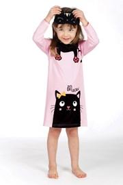 Dziewczęca piżama Lina Pink Kitty