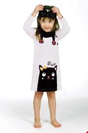 Dziewczęca koszula nocna Lina Pink Kitty