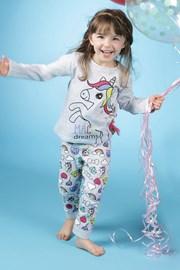 Dziewczęca piżama Lina Pink Pony
