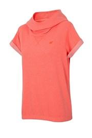 Modna damska bluza sportowa 4F z krótkimi rękawami