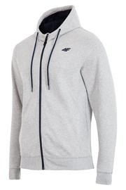 Męska bluza z kapturem Hoody Grey