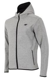 Męska bluza sportowa z kapturem Grey