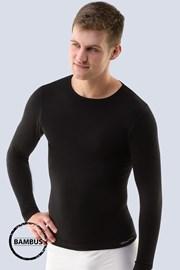Męski bezszwowy T-shirt Bamboo z długim rękawem