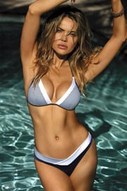 Dwuczęściowy kostium kąpielowy Casablanca Blue