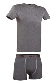 Męski komplet: T-shirt i bokserki Primal 162BG