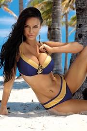 Dwuczęściowy damski kostium kąpielowy Christina niebieski