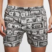 Luźne bokserski Cornette Classic Dollars
