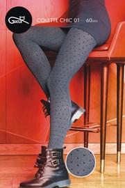Wzorzyste rajstopy Colette Chic 01