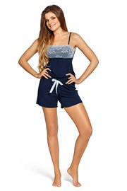 Elegancka damska piżama Colette Navy