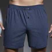 Luźne męskie bokserki CORNETTE Comfort Blue Turkus