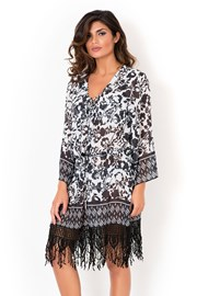 Włoska sukienka plażowa David Mare kolekcja Peyote