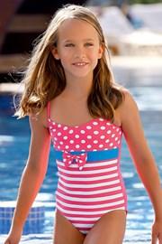 Dziewczęcy kostium kąpielowy Nataly DB3
