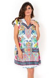 Włoska sukienka plażowa z kolekcji David Beachwear Rajasthan
