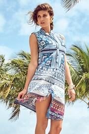 Włoska sukienka koszulowa David Beachwear z kolekcji Gujarat