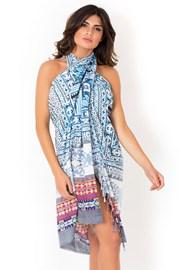 Chusta plażowa/pareo marki David Beachwear kolekcja Gujarat 180x110 cm