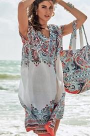 Torba plażowa włoskiej marki David Beachwear kolekcja Jaipur 36x46cm