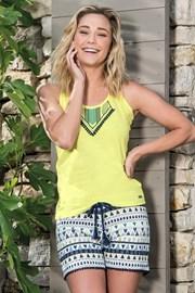 Damska piżama Etno krótka