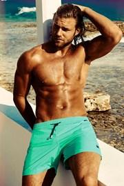 Luksusowe kąpielówki męskie Edgar Aquamarine