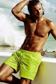 Męskie szorty kąpielowe Edgar Lime