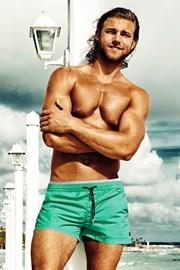 Męskie szorty kąpielowe Rene Aquamarine