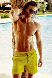 Luksusowe kąpielówki męskie Darius Yellow