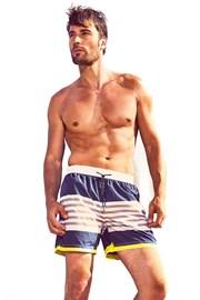 Męskie szorty kąpielowe DAVID 52 Blue Stripes Caicco
