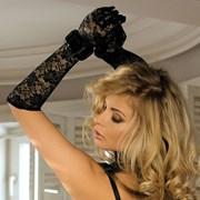 Rękawiczki Diana koronkowe