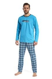 Piżama męska Display niebieska