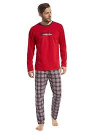 Piżama męska Display czerwona