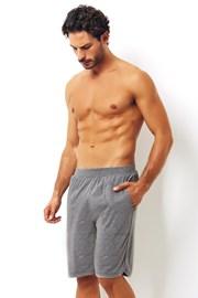 Męskie bawełniane szorty szare