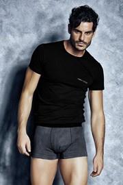 Męski komplet: T-shirt i bokserki ENRICO COVERI Valerio2
