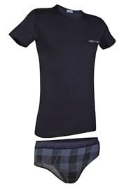 Męski komplet: T-shirt i slipy Enrico Coveri 1626SB