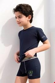 Komplet: chłopięce bokserki i podkoszulek Enrico Coveri 4071