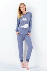 Damska piżama Susianne niebieska