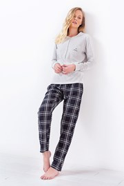 Damska piżama 3034 szara