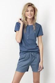 Damska piżama Joslin niebieska