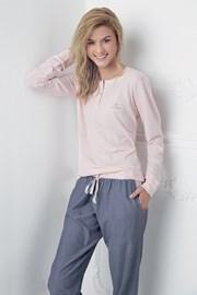 Damska piżama Alice różowoniebieska