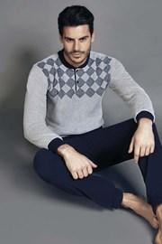 Męska piżama ENRICO COVERI 5034GC