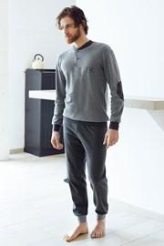 Męski dres bawełniany Angelo - szary