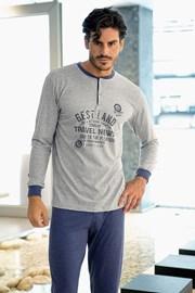 Męska piżama włoskiej produkcji - Leon
