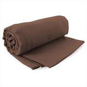Komplet szybkoschnących ręczników Ekea brązowy