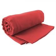 Szybkoschnący ręcznik Ekea czerwony 100x200